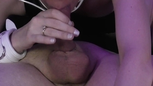Brunette POV blowjob in HD