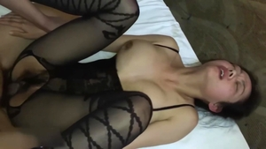 Exotic chick asian stepmom really likes hard pounding in HD