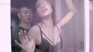 Chinese wearing underwear pussy eating