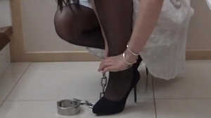 Asian female bondage HD