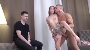 Inked babe rough cheating cuckholding in HD