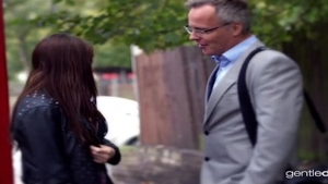 Married babe Samantha Bentley does what shes told