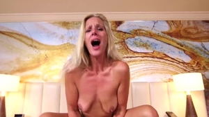 Nailing escorted by saggy tits stepmom