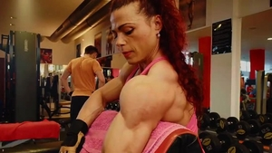 Fetish good fucking in the company of muscled bodybuilder