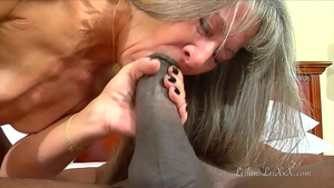 Natural amateur having fun with BBC