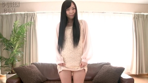 Solo japanese female goes wild on cock