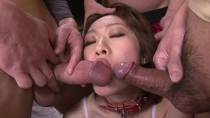 Hairy asian has a passion for uncensored creampie in HD