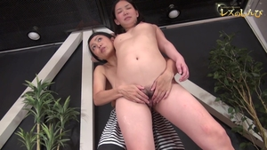Good fucking with hairy asian brunette