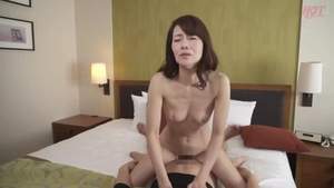 Sex escorted by japanese brunette