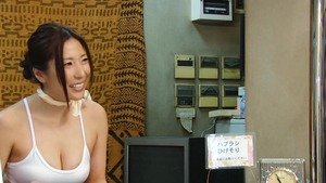In the sauna large tits japanese