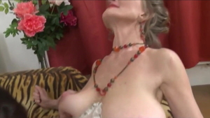 Saggy tits european granny digs fucking in stockings in HD