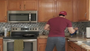 'plowing AND COOKING! thick latin chick Wife receives fucked while The spouse Cooks'