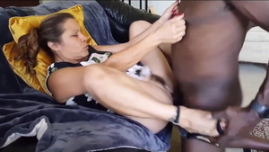 Latina wife need gets orgasm wearing high heels HD