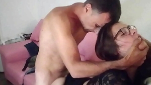Nailing escorted by amateur