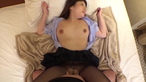 Pussy sex together with busty japanese dentist