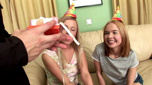Britney Spring cum in mouth at the party HD