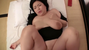Large tits japanese mature got fucked hard in Tokyo