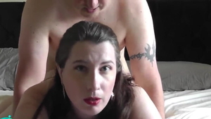 Plowing hard in the company of chubby deutsch BBW
