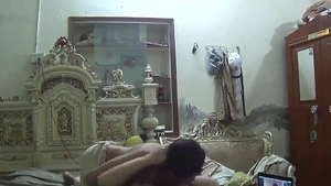 Muslim Arab housewife receives nailed rough in HD
