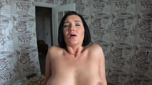 Large tits amateur undressing POV blowjob HD