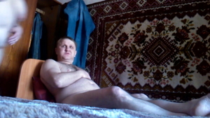 Real sex in company with russian wife