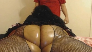 Big booty BBW gets a buzz out of real sex