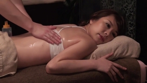 Massage hairy asian