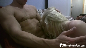 The best sex in company with tight girl