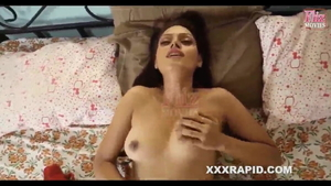 Nailed rough accompanied by busty desi