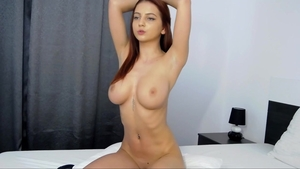 Huge tits babe erotic sexy dancing