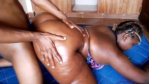 African FATTY - dilettante  couple Sex