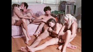 Group sex escorted by hairy