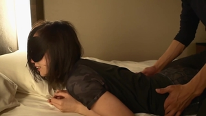 Beautiful japanese brunette receives hard ramming in HD