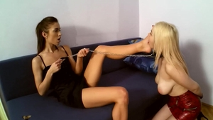 Rough good fuck starring horny blonde babe