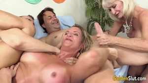Orgy along with american cougar