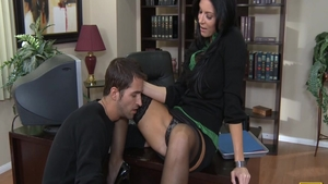 Big butt India Summer really likes hard nailining