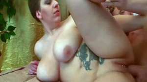 Very ugly russian babe has a thing for hard slamming in HD