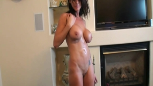 Rough plowing hard starring perfect body brunette