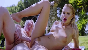 Very hot Georgie Lyall ass fucking and Cherry Kiss in public