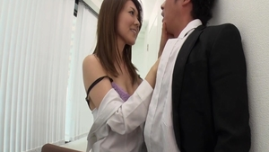Rough sex accompanied by young japanese whore Mao Saitou