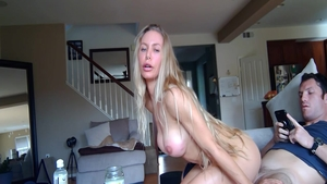Huge tits hottest amateur Nicole Aniston homemade ass fucking