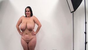 Very fat babe pussy fucking at casting