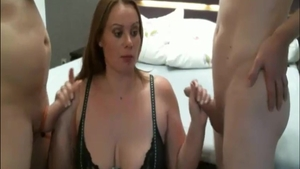 Large boobs amateur reality blowjob