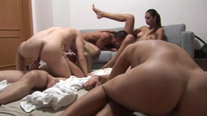 Good fuck in company with czech swinger