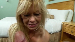 Blonde haired wishes hard pounding HD