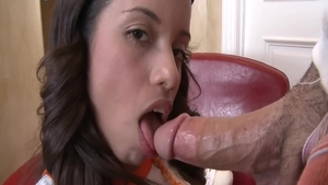 Real sex with young latina brunette