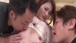 Asian housewife feels in need of homemade masturbation