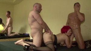 German redhead feels the need for the best sex in HD