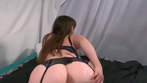 Solo thick & erotic redhead sex with toys