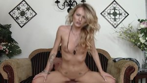 Nailing in company with young housewife Natasha 10